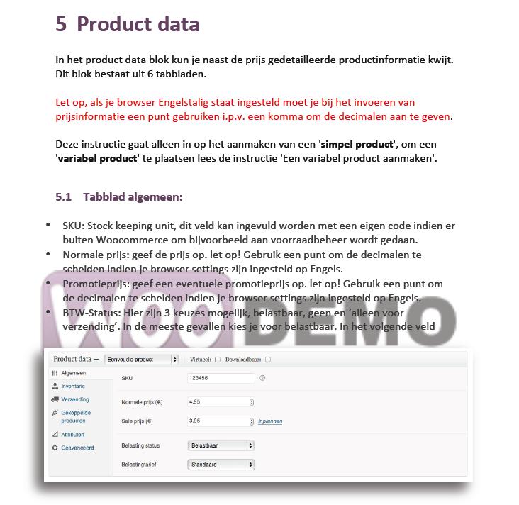 Een simpel product toevoegen in WooCommerce