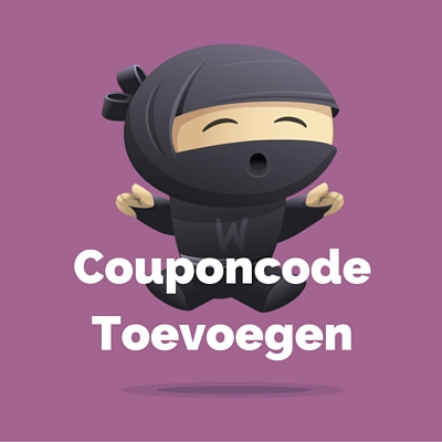 WooDemo - Couponcode Toevoegen