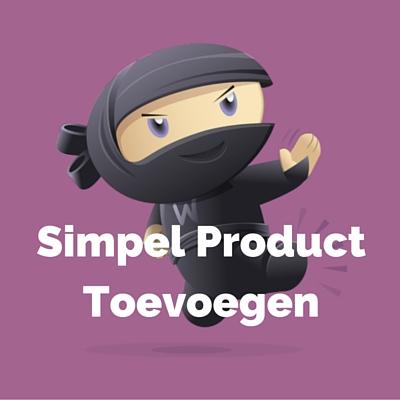 WooDemo - Simpel Product Toevoegen