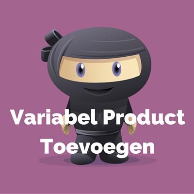 WooDemo - Variabel Product Toevoegen